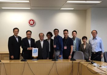 Have a good meeting about STEM Education with Secretary Mr. Ng of Education Bureau