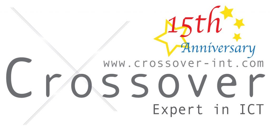Crossover Logo 15th Anniversary